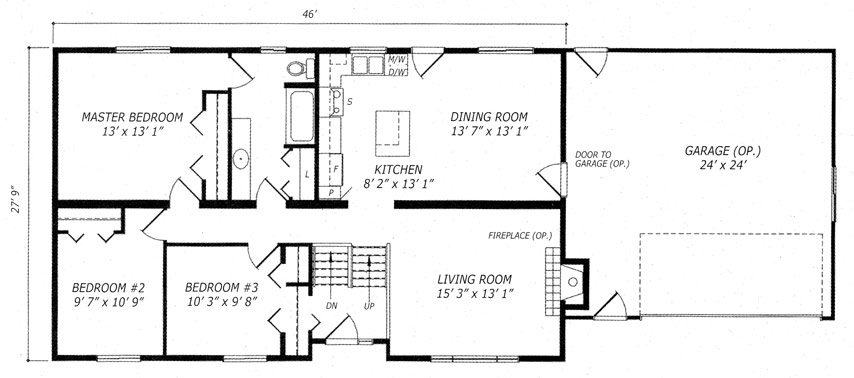 Quantum builders inc home builders in the espanola the for Westport homes ranch floor plans